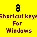 Useful Windows 8 Keyboard Shortcuts