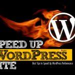 Speed up wordpress page
